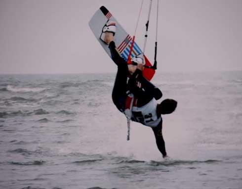 kiteboarding rügen