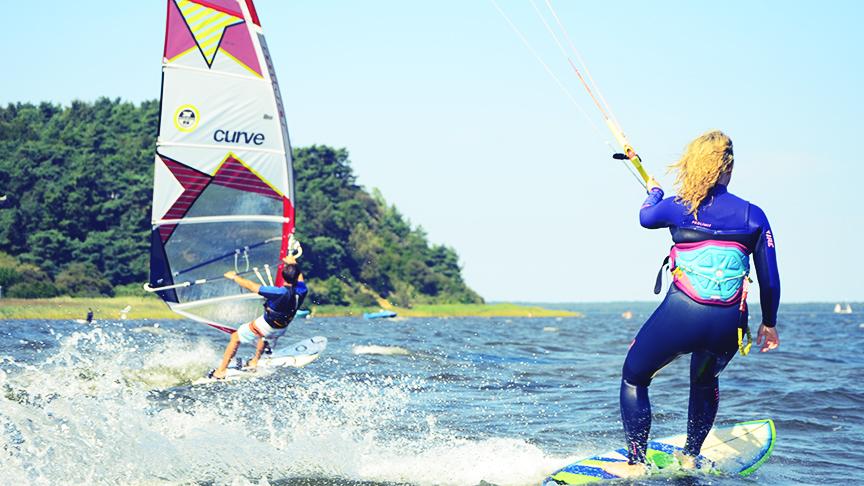 Privatstunden - Kitesurfen lernen auf Rügen