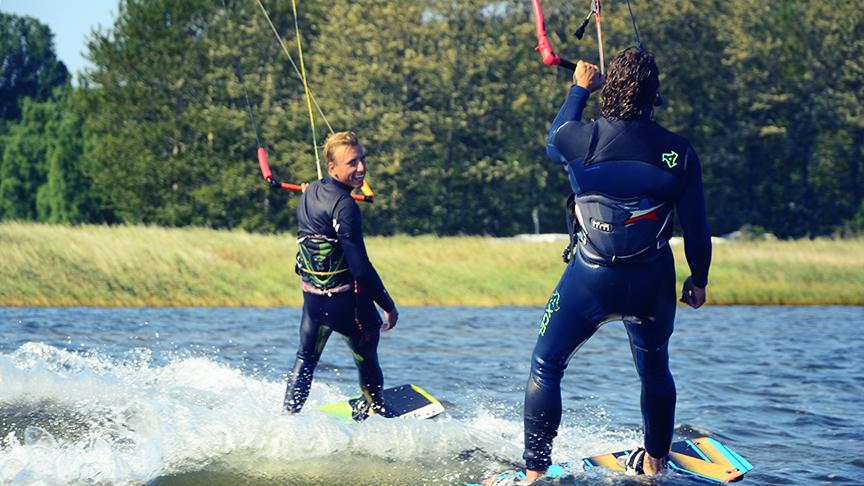 In Groß Banzelvitz Kitesurfen lernen