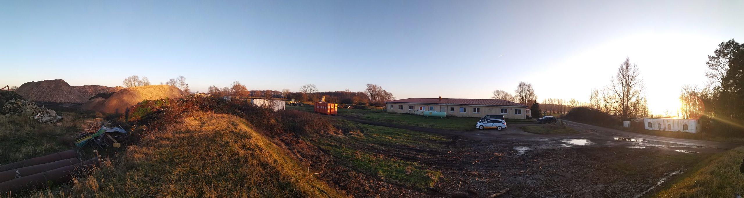 Das neue Hostelgebäude von Rügen Kite