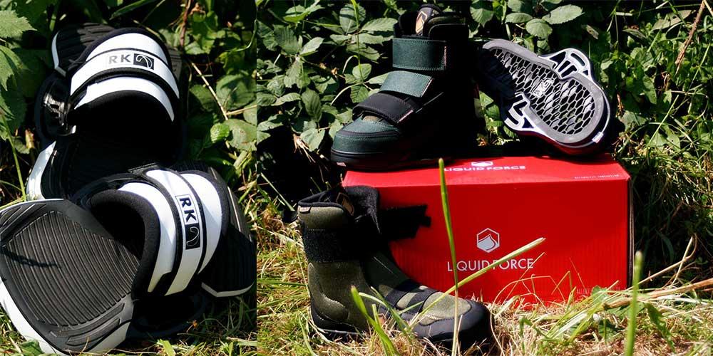 Rügen Kite Pads und Liquid Force Hiker Army Green